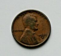 1929D USA LINCOLN WHEAT CENT COIN - ONE CENT 1 - BROWN