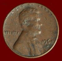 1968 D LINCOLN CENT. BUY ANY 3 FOR $1 OFF. SHIPS FREE. NR