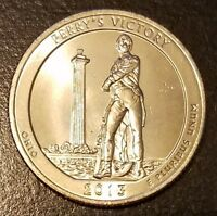 2013 S PERRY'S VICTORY QUARTER DOLLAR  7733