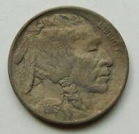 1913 BUFFALO NICKEL EXTRA FINE  DETAILS  5 CENT COIN  1913 P TYPE 1  ON THE MOUND