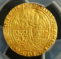 1453 FRANCE/ENGLAND HENRY VI. ANGLO GALLIC GOLD