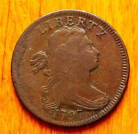 1797 DRAPED BUST LARGE CENT IN  CONDITION