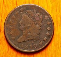 1810 LARGE CENT CLASSIC HEAD