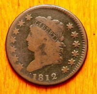 1812 LARGE CENT CLASSIC HEAD