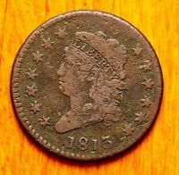 1813 LARGE CENT CLASSIC HEAD