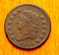 1814 LARGE CENT CLASSIC HEAD CROSSLET 4