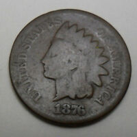 1876 P INDIAN HEAD CENT / PENNY   AG - ABOUT GOOD    SHIPS FREE