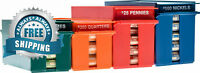 NADEX ROLLED COINS STORAGE BOXES WITH LOCKABLE COVERS   HIGH CAPACITY