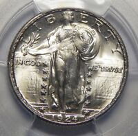 1924-S PCGS/CAC MINT STATE 67 STANDING LIBERTY QUARTER