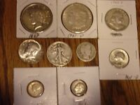 US SILVER COINS LOT AUCTION  .LOOK AT EACH COIN.