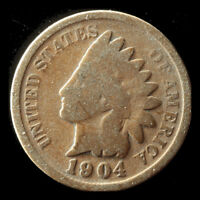 1904-P INDIAN CENT SHIPS FREE. BUY 5 FOR $2 OFF