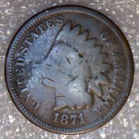 1971 INDIAN HEAD CENT