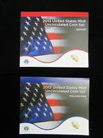 2013 UNITED STATES MINT UNCIRCULATED COIN SET - 28 COIN P & D MINT SET