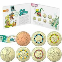 2019 RAM 60TH ANNIVERSARY OF MR SQUIGGLE AND FRIENDS SEVEN COIN COLLECTION SET