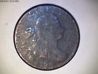 1796 LARGE CENT, REV OF 1797,  COIN