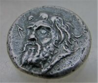 ANCIENT GREEK SILVER DRACHM. NEEDS RESEARCH
