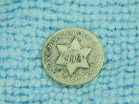 1851 3 CENT SILVER COIN NO BENDS