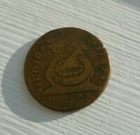 1787 COPPER U.S. FUGIO CENT  1