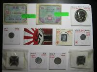 MISC LOT 1 OF COINS TOKENS MEDALS WORLD PLATED AND JUNK DRAW