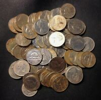OLD CANADA COIN LOT   .999 NICKELS  PRE 1981  OVERSTOCK   60