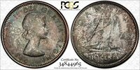 1962 CANADA 10C CENTS PCGS MS66 TOP GRADE TREND$480