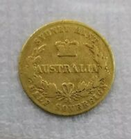 1861 RARE SYDNEY MINT HALF SOVEREIGN VERY GOOD CONDITION