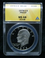 1978 S IKE HOLDER ERROR BY ANACS THIS MISTAKE ON HOLDER SLAB ERRORS HAS WRONG ..