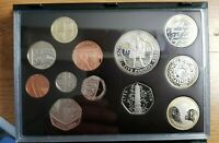 2009 PROOF COINS SET WITH 50 PENCE KEW GARDENS NEVER OPENED