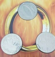 2003 OFFICIAL NEW ZEALAND LORD OF THE RINGS TRILOGY $1 COIN