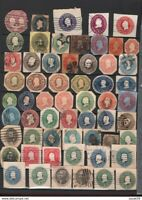 USA UNCHECKED USED CLASSIC STATIONERY CUT OUT STAMPS SEE.. Z