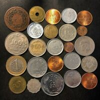 OLD TURKEY COIN LOT   1869 PRESENT   24 EXCELLENT COINS   LO