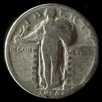 1926-S STANDING LIBERTY 90 SILVER QUARTER SHIPS FREE. BUY 5 FOR $2 OFF