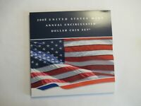 2008 US MINT ANNUAL UNCIRCULATED SET 6 COINS W SAE   5 DOLLA