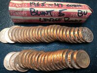 CANADIAN BU 1965 BLUNT 5 LARGE BEADS   47 COINS  YOU GRADE
