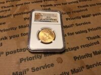 CANADA 1914 $10 CANADIAN GOLD RESERVE NGC MS 64
