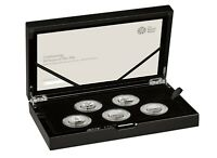 NEW 50 YEARS OF THE 50P MILITARY SILVER PROOF 50P COIN SET S