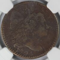 1794 HEAD OF 94 1C LIBERTY CAP S-58 LARGE CENT NGC VG DETAILS CORROSION