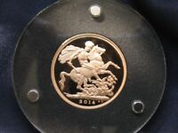 2014 GREAT BRITAIN GOLD SOVEREIGN GEM PROOF
