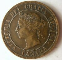 1901 CANADA CENT   HIGH QUALITY EARLY DATE COIN   STRONG VAL