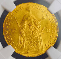Click now to see the BUY IT NOW Price! 1756 KINGDOM OF HUNGARY MARIA THERESA. GOLD DUCAT COIN. KREMNITZ  NGC MS 64