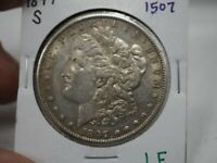 1897 -S  $1 MORGAN SILVER DOLLAR  1507