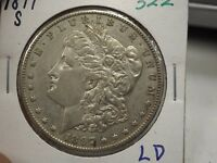 1897 S MORGAN SILVER DOLLAR  322
