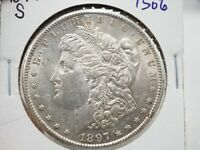 1897 -S  $1 MORGAN SILVER DOLLAR  1506