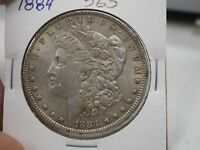 1884 $1 MORGAN SILVER DOLLAR  565