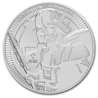2019 NIUE STAR WARS SERIES DARTH VADER 1 OZ SILVER BU COIN   IN STOCK