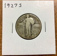 1927 S STANDING LIBERTY SILVER QUARTER 25, G