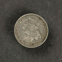 1836 CAPPED BUST 10HC HALF DIME   MID-GRADE COIN LOTF831KN