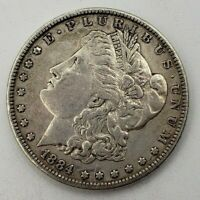 1884 $1 MORGAN SILVER DOLLAR COIN AS PICTURED  & SHIPS FREE
