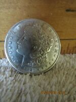 1921-S MORGAN SILVER DOLLAR MINTED IN SAN FRANCISCO. LAST YEAR MINTED IN S.F.