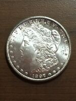 1897 - S SAN FRANCISCO MINT $1 SILVER MORGAN DOLLAR